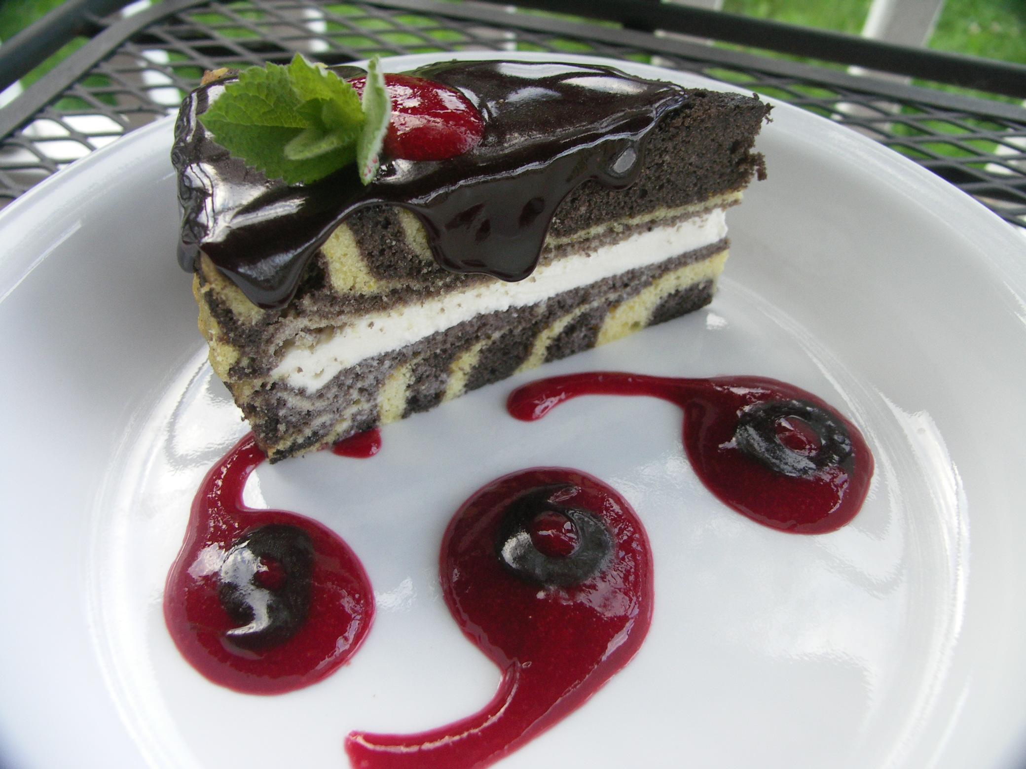 Ze-bra-vo cake!