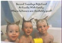 Second Tuesdays Déjà Food Badge- If you're so inclined.