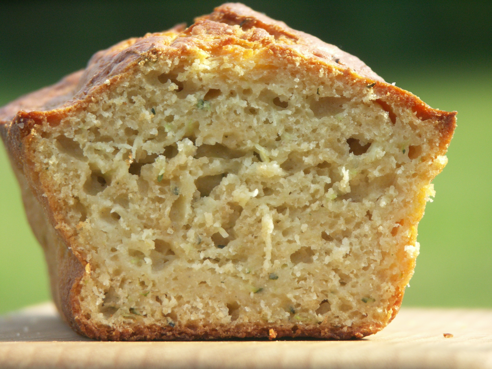 Golden Whole Wheat Zucchini Bread
