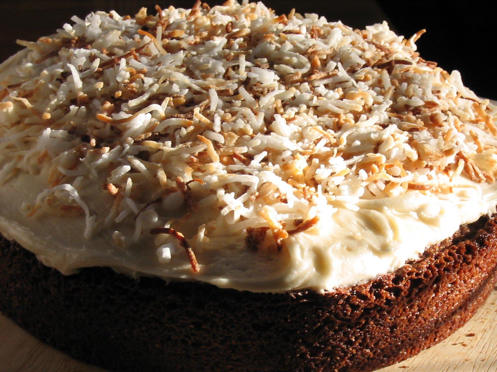 Garam Masala Depression Cake