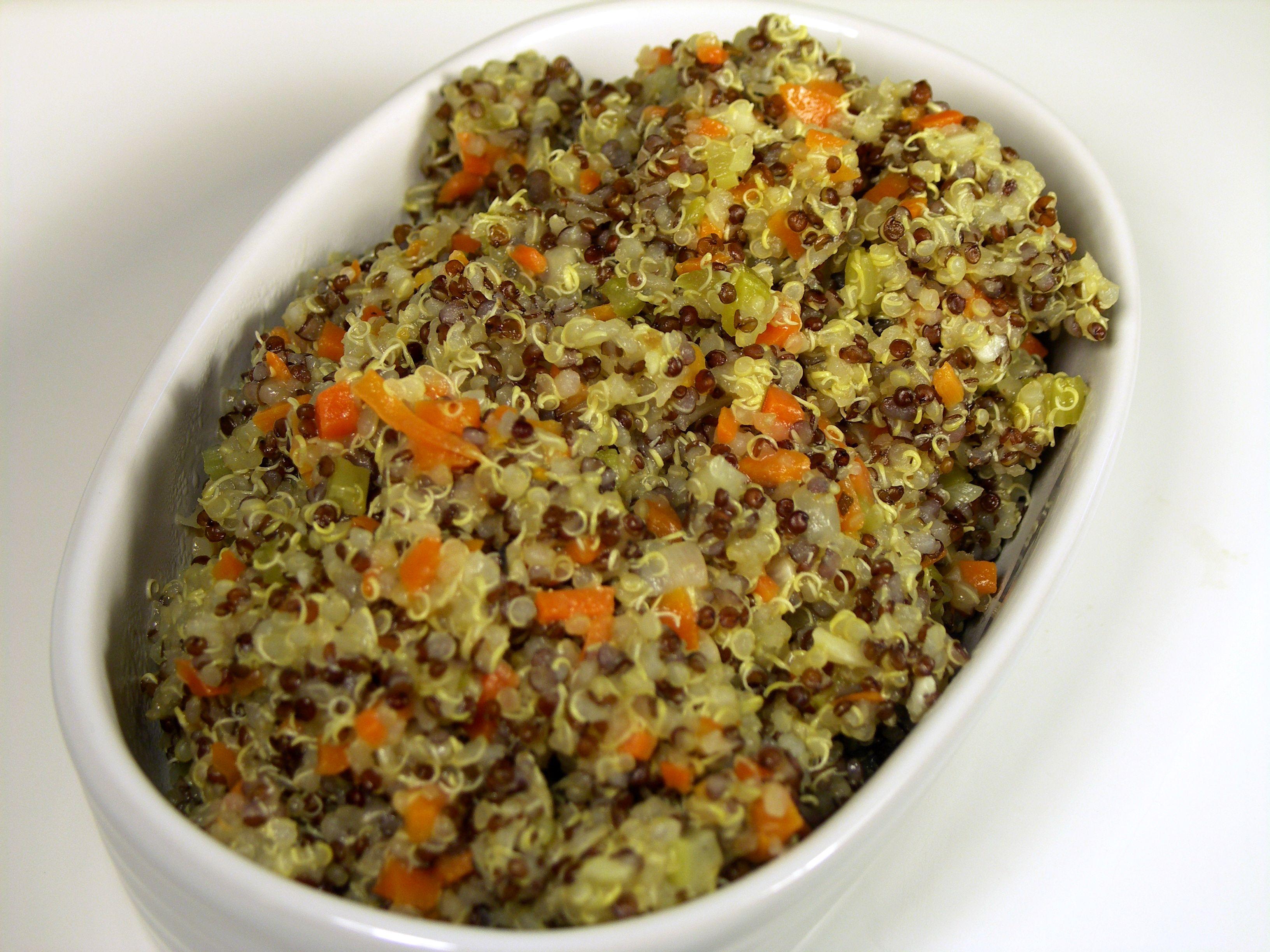 Warm Quinoa Pilaf