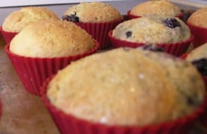 Blueberry Love Muffins