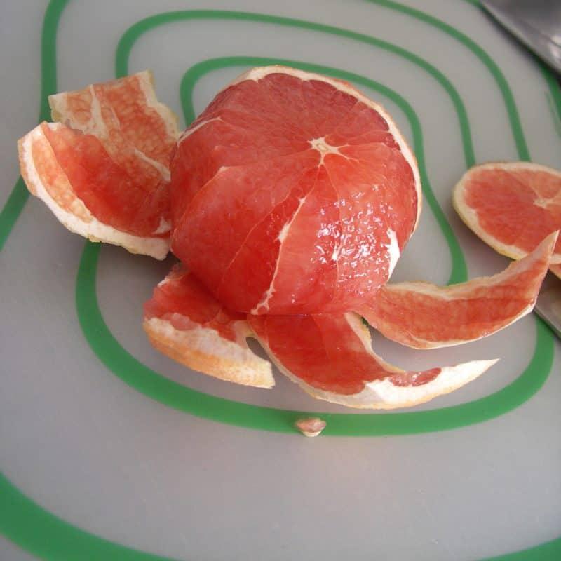 Individual Grapefruit Tarts