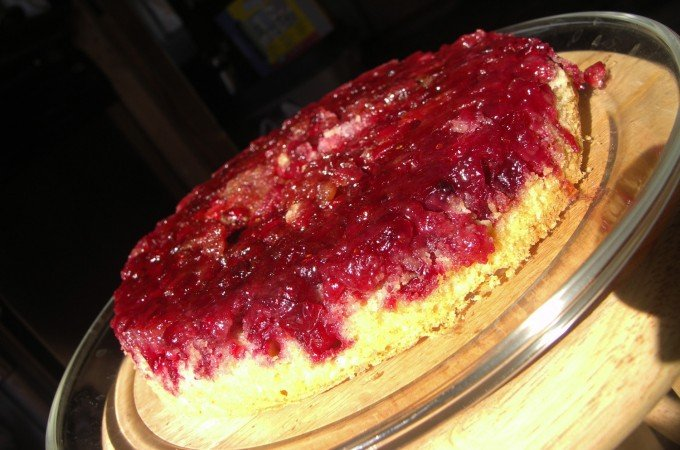 Cranberry Upside Down Cake