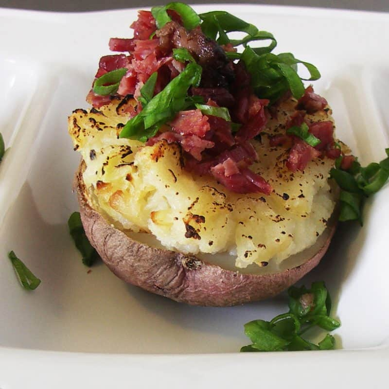 Colcannon Stuffed Twice Baked Potatoes: Part II of a St. Patrick's Day Feast!