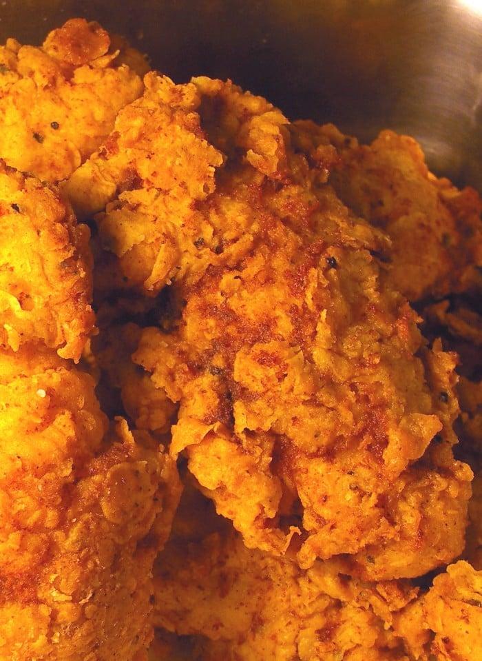 Extra-Crunchy Fried Chicken Recipe — Dishmaps