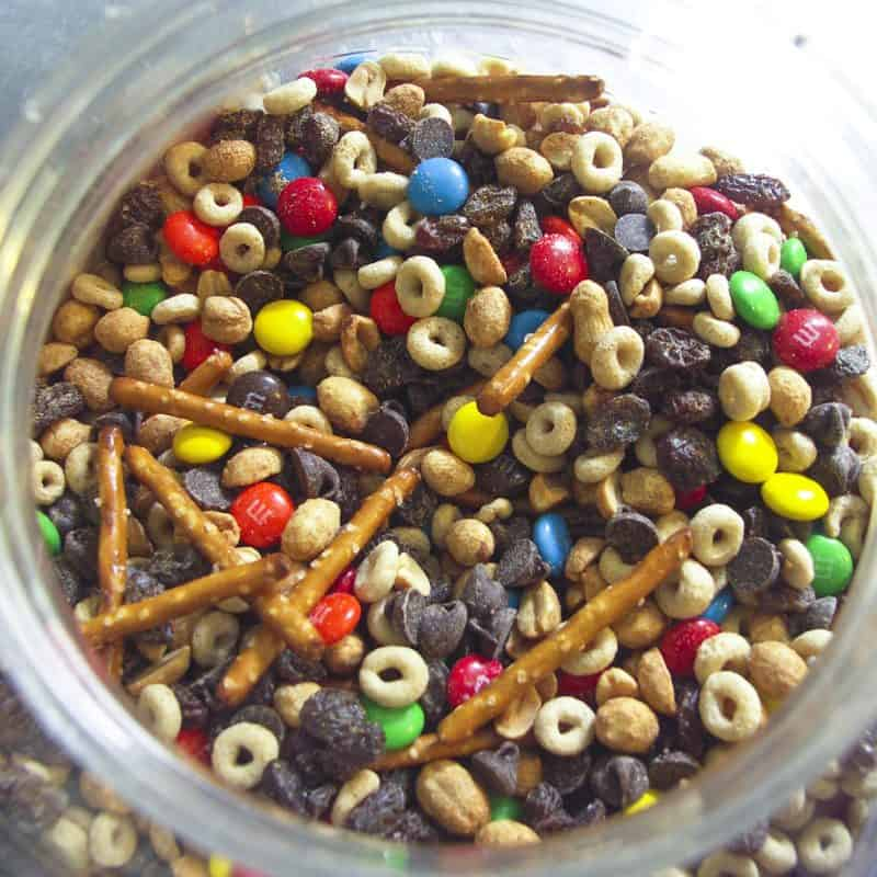 Foodie With Family Gorp.  A.K.A. Trail mix and Scroggin