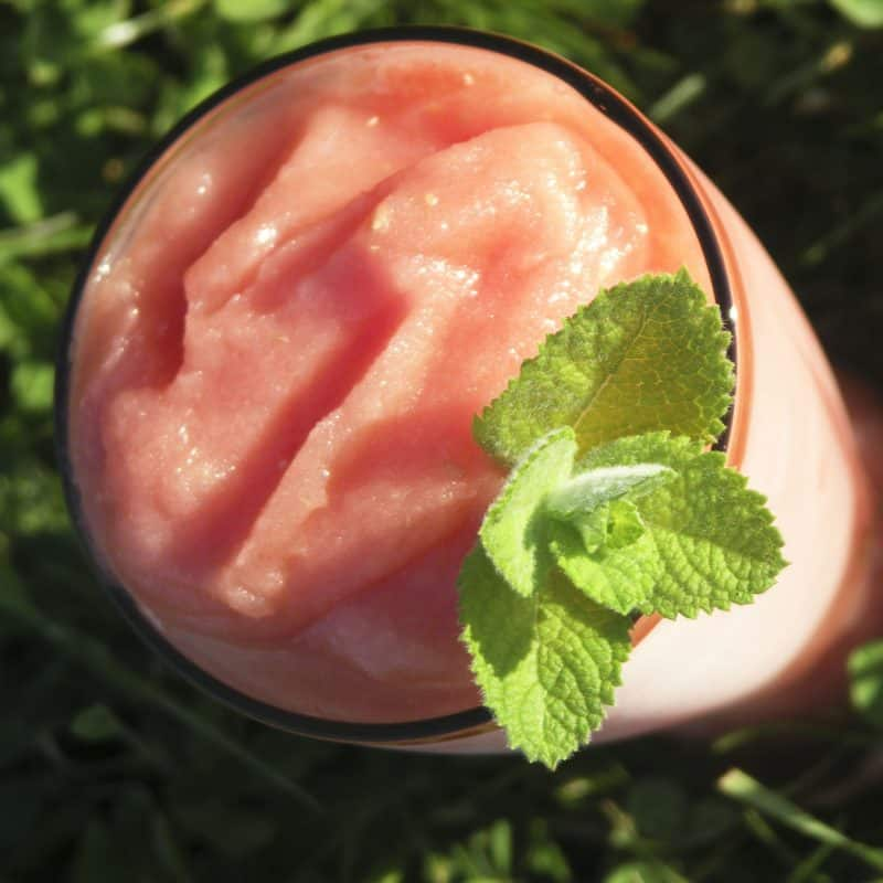 Watermelon Mojito Slushies: Think Pink!