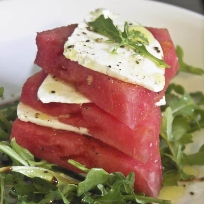 Watermelon Feta Salad: Think Pink Thursdays