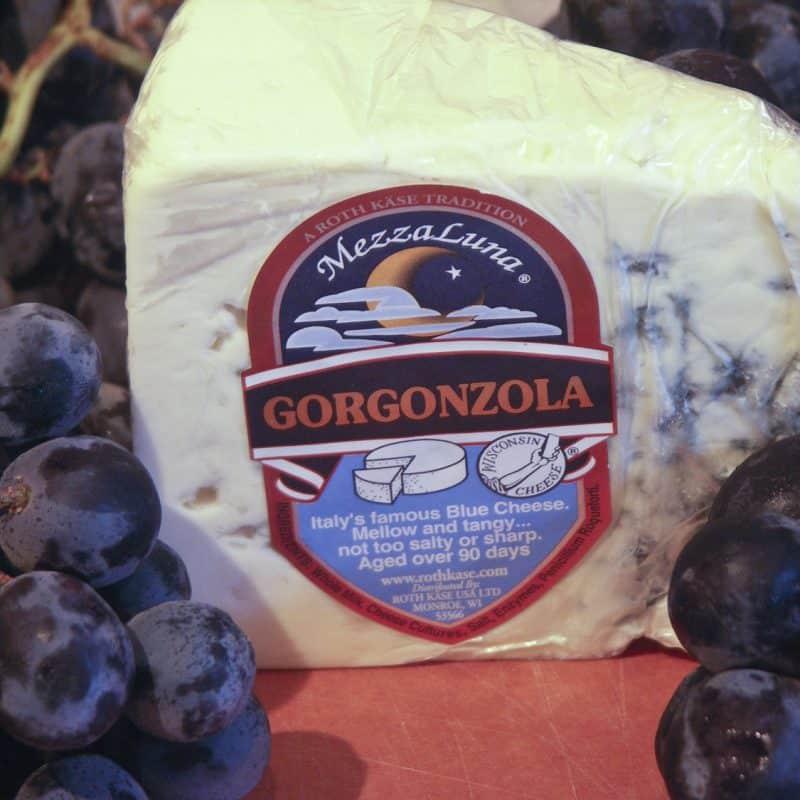 Gorgonzola Grape Burgers