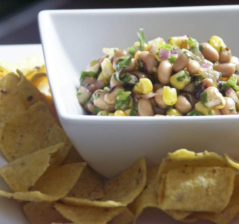 Recession Caviar (Black-Eyed Pea Salsa)