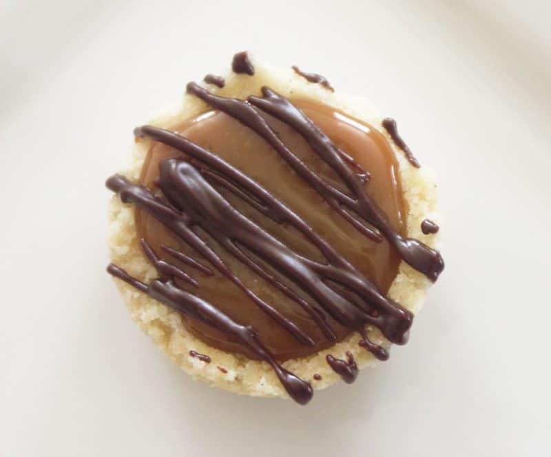 Homemade Twix Cookies