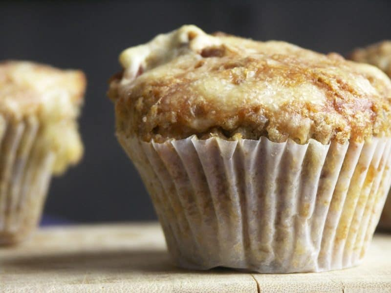 Bacon and Swiss Rye Muffins