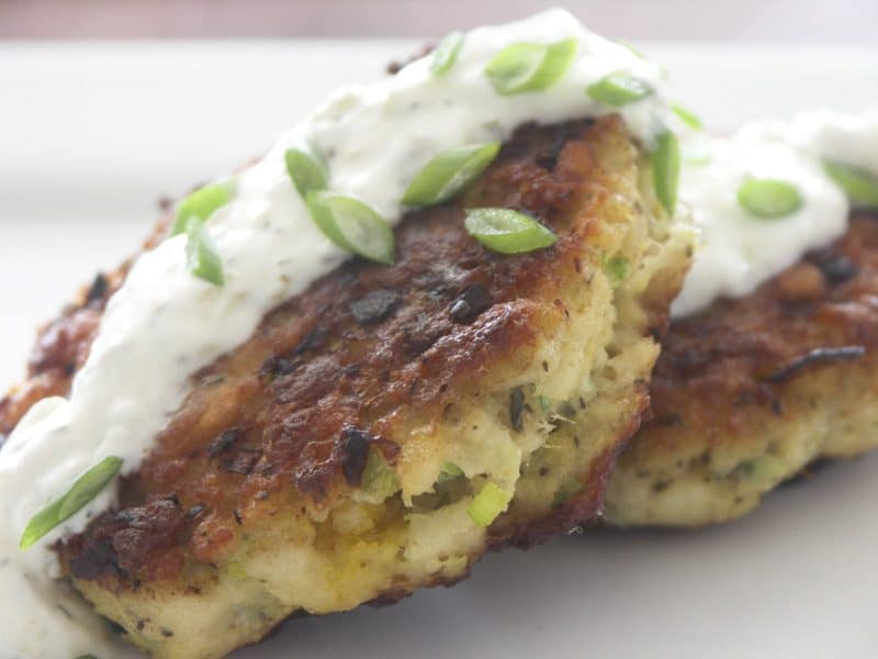 New England Style Fish Cakes and Tart-er Tartar Sauce