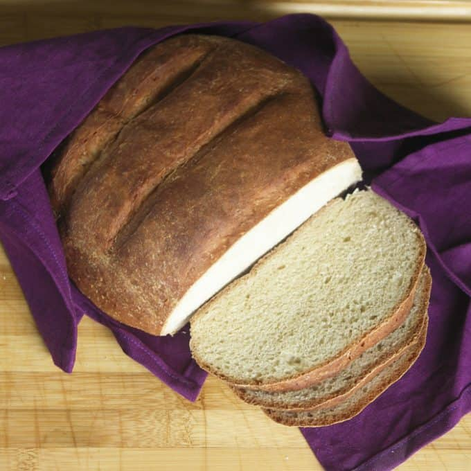One Hour Sandwich Bread. Yeast bread done in one hour from start to finish.