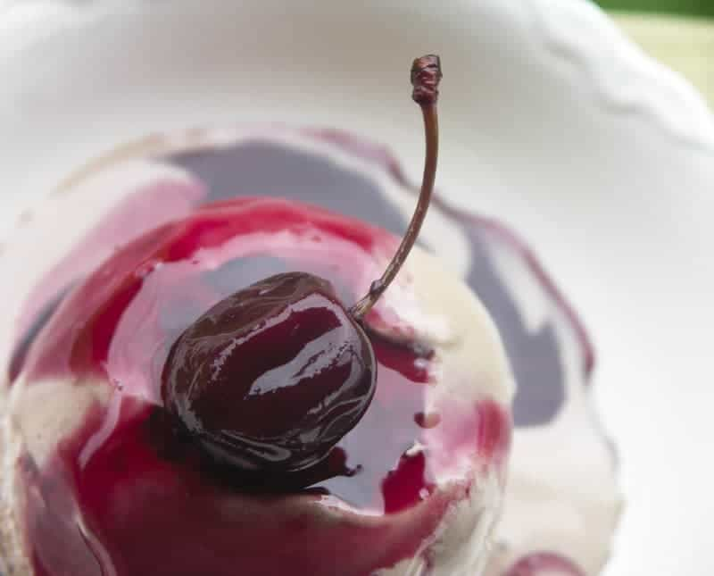 Rum Soaked Preserved Cherries + Boozy Cherry Molasses