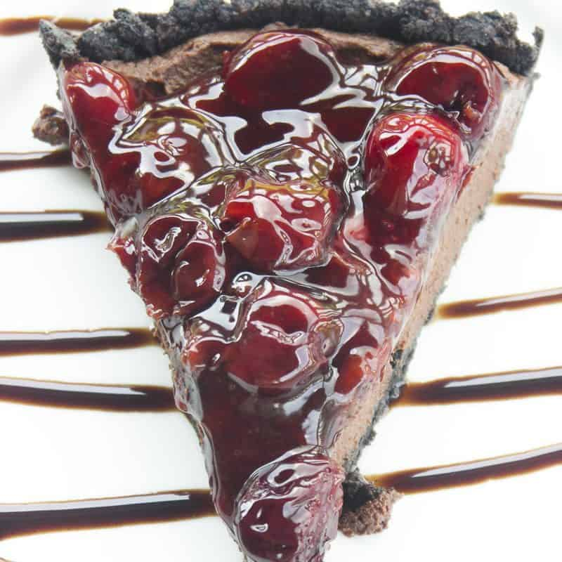 Black Forest Truffle Tart
