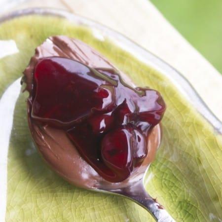 Sweet Black Cherry Pie Filling