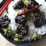 Jangsanjeok - Korean glazed beef patties