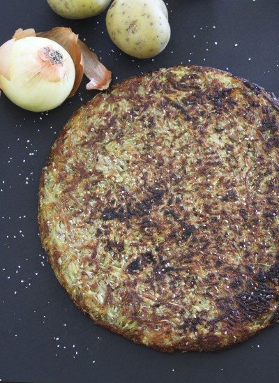 Roesti (Swiss Crispy Potato Pancake)