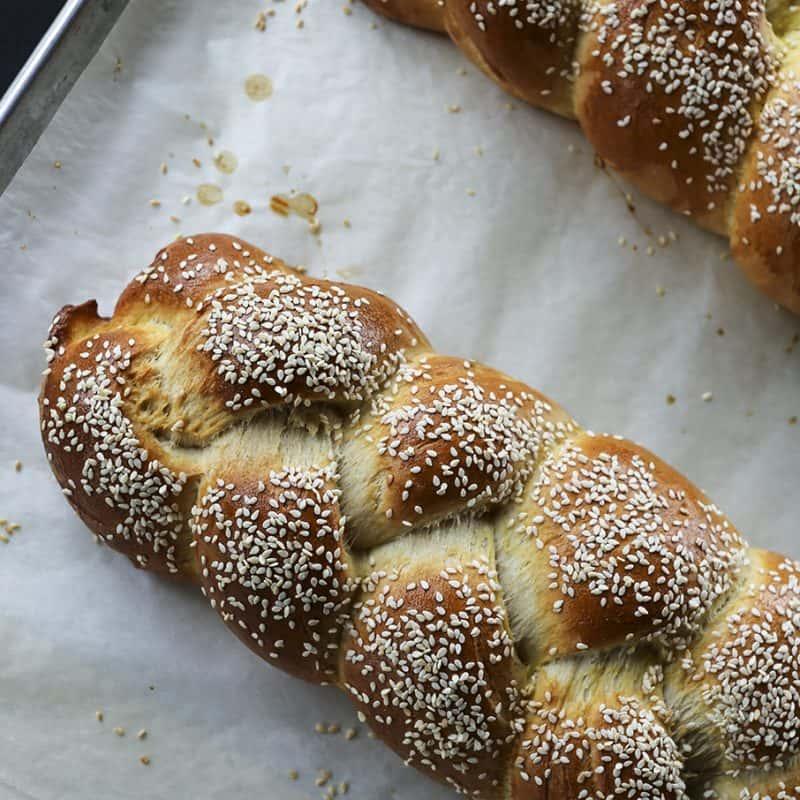 Sesame Semolina Bread