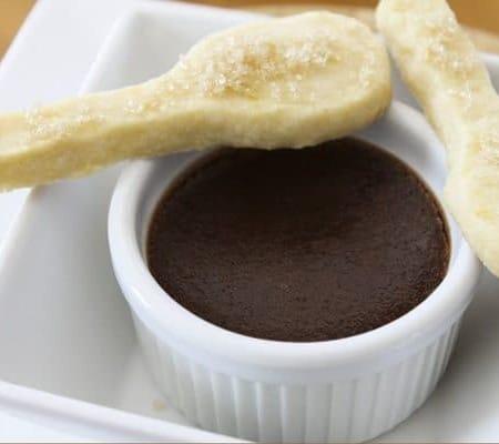 Shortbread Cookie Spoons (Spookies)