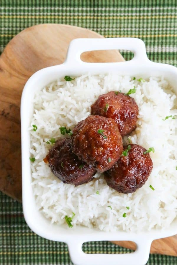 Old Fashioned Ham Balls from foodiewithfamily.com