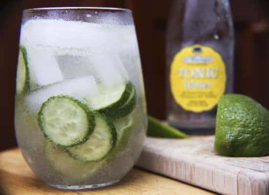 Cucumber Gin Coolers