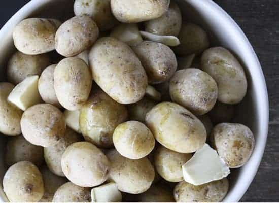 Salt Potatoes: creamy, tender, and vastly superior to the average boiled potatoes, these fixtures of the Western New York festival and barbecue scene signify summer.