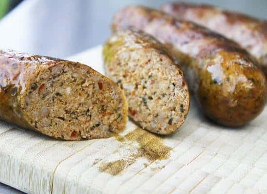 Homemade Hot Italian Sausage Links