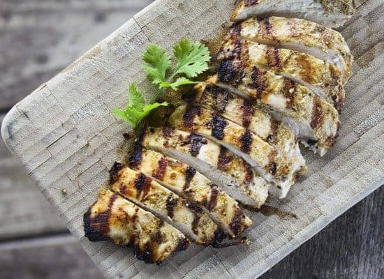 Prize Winning Grilled Tandoori Style Chicken