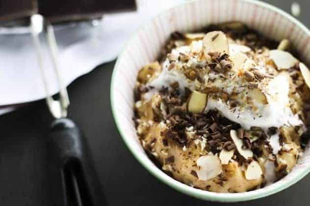Mounds Bar Rice Pudding | Coconut, Almond and Dark Chocolate Rice Pudding