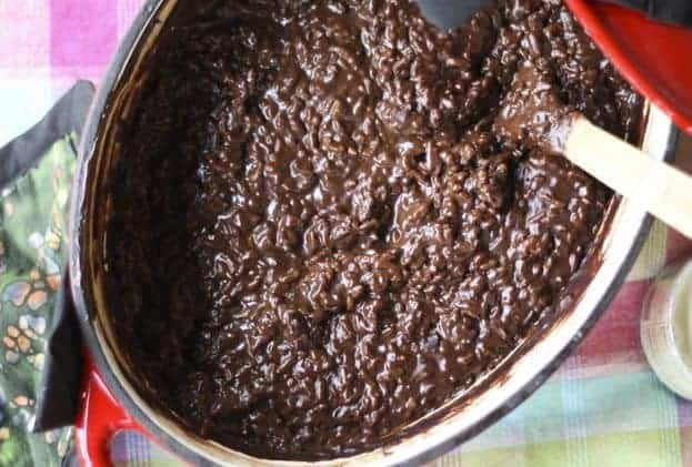 Champorado (Chocolate Rice Porridge)