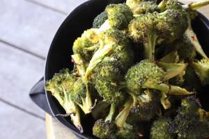 spicy asian chile garlic broccoli
