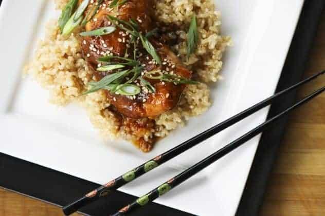 Slow-Cooker Honey Sesame Chicken