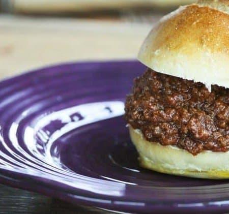 Slow Cooker Sloppy Joes | Make Ahead Mondays