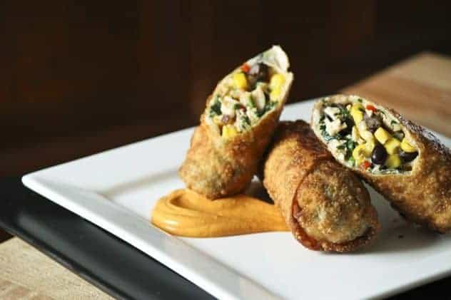 recipe: southwest chicken egg rolls [19]