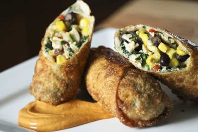 Southwestern Egg Rolls | Make Ahead Mondays