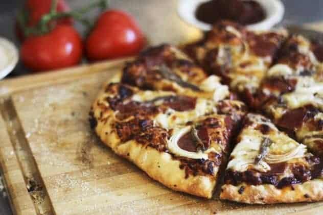No-Knead Whole-Wheat Semolina Pizza Dough | Make Ahead Mondays