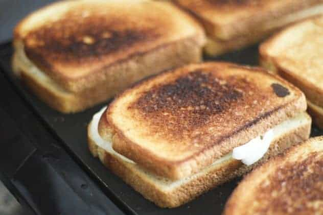 Mom's Grilled Cheese and Sweet Onion Sandwiches