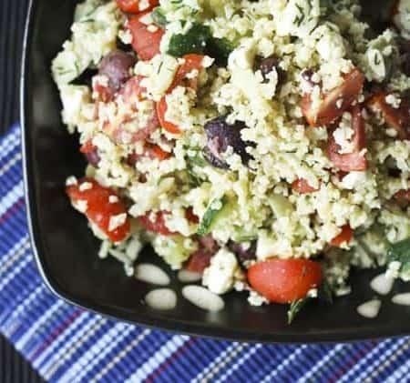 Greek Millet Tabbouleh (Gluten-Free)