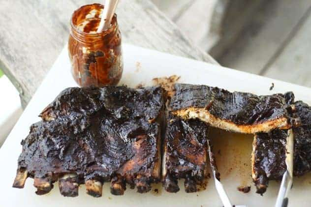 """Barbecue"" Grilled Spare Ribs"