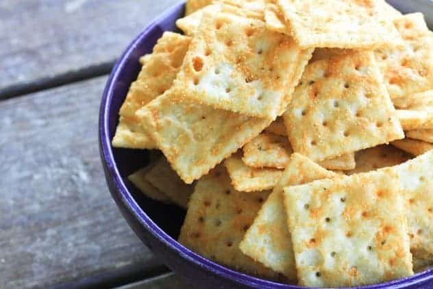Seasoned Snack Crackers (Amish Recipe) Make Ahead Mondays