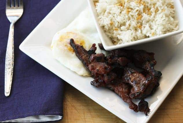 Tocino (Filipino Cured Pork) | Make Ahead Mondays