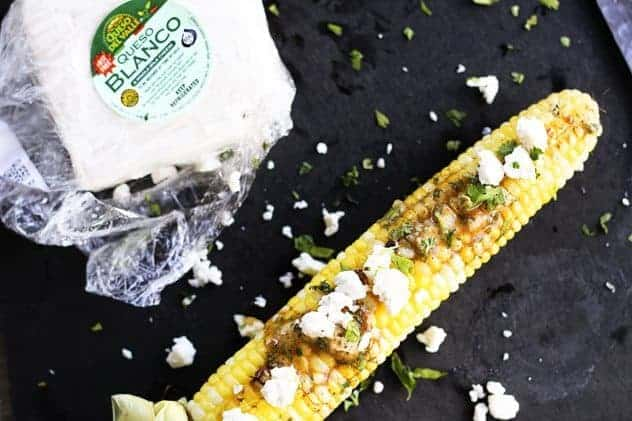 Chipotle Cilantro Lime Butter and Mexican Grilled Corn | Make Ahead Mondays