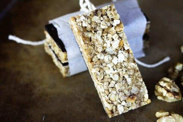 Chunky Monkey Chewy No-Bake Granola Bars
