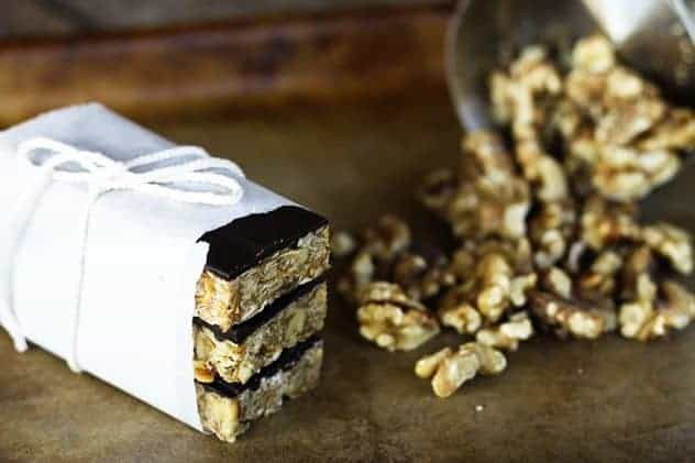 Chunky Monkey No Bake Granola Bars 2