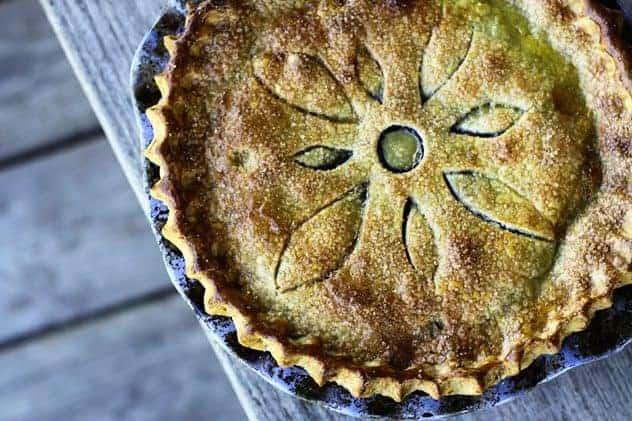 Grape Pie Filling and Grape Pie | Make Ahead Mondays