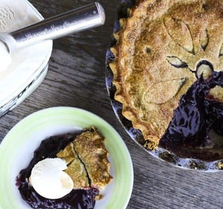 Grape Pie Filling and Grape Pie | Make Ahead Mondays