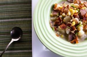 Roasted Corn and Potato Chowder 2